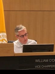 Hudson County Freeholder William O'Dea, Vice Chairperson of Freeholder Board at July 12, 2018 meeting.