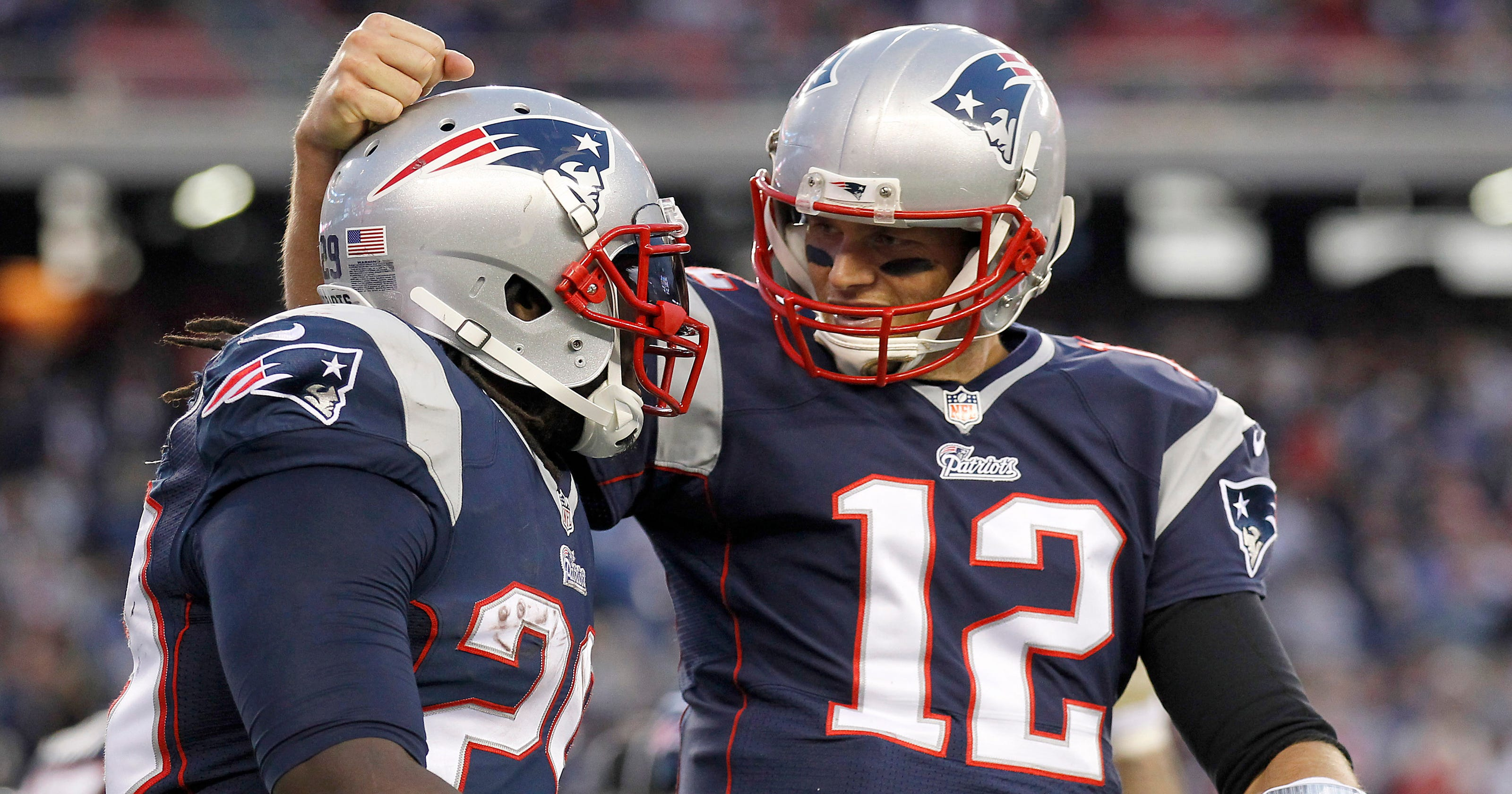 72b66a159fb Tom Brady passes Patriots to 34-9 win over Lions