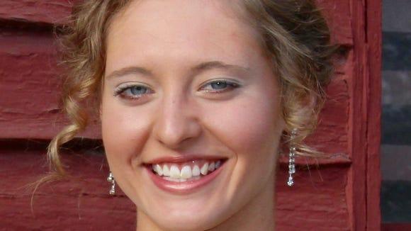 East Henderson senior Lilly Blankenship.