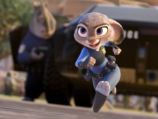 "Judy Hopps (voice of Ginnifer Goodwin) believes anyone can be anything in ""Zootopia."""