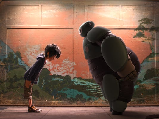 Film Review Big Hero 6