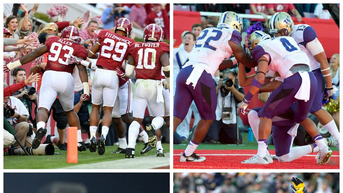 when do the college football rankings come out todays college games