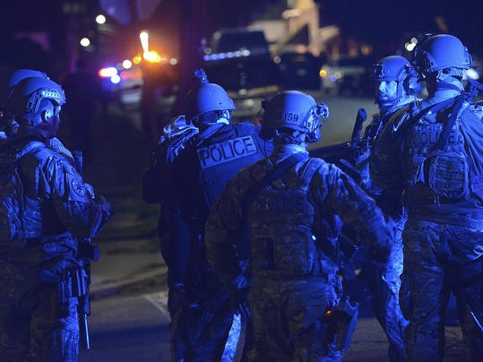 Officer Fatally Shot