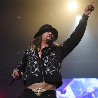 Kid Rock wraps Little Caesars Arena kickoff before Red Wings hit the ice