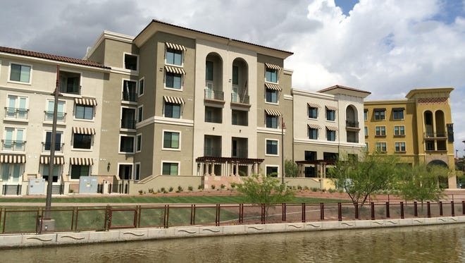 Broadstone Waterfront in Scottsdale is one of several recent apartment projects built by Alliance Residential Co., which ranked as the nation's largest multifamily housing developer in 2014.