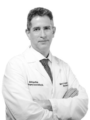 Dr. Marc Arginteanu, chief of neurosurgery at Englewood Hospital and Medical Center.