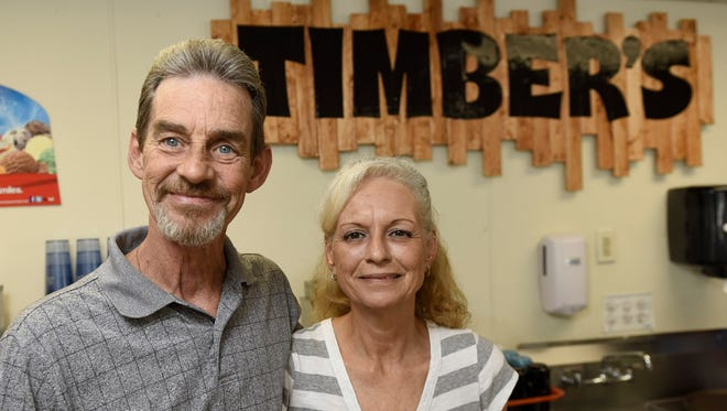 Tim Klein and Wanda Kopchinski  operate Timber's Restaurant and Ice Cream Parlor at 8228 Lincoln Way East, Fayetteville.