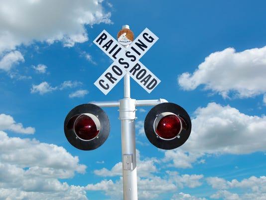 #stockphoto - railroad crossing