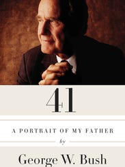 """Cover of the book """"41: A Portrait of My Father"""" by"""