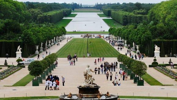Gardens of Versailles.