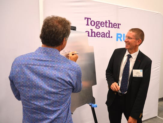 RUAG held a panel signing for the opening of its new