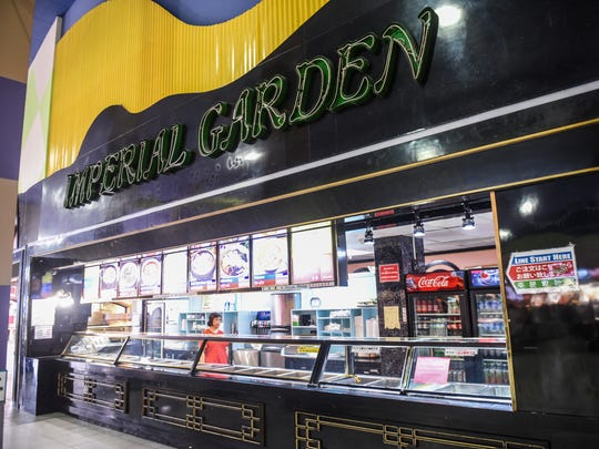 The Imperial Garden vendor stall remained closed after a notice of closure was issued to the vendor stall at the Guam Premier Outlets food court on Wednesday, Oct. 11, 2017.