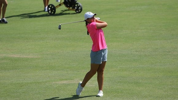 Hanley Long is tied for third at the 84th Tennessee Women's Amateur Championship
