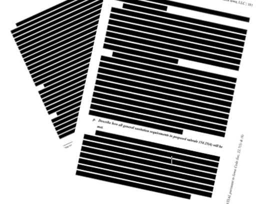 Medpharm Iowa supplied Iowa officials in late 2017 with two versions of its application that would allow it to sell produce Medical marijuana: One for the public and one for the health agency. Now there is an effort underway to unseal more than 250 pages that have been partly or entirely redacted.