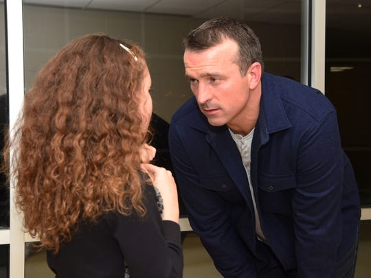 Ex-NBA player and recovering drug addict Chris Herren,