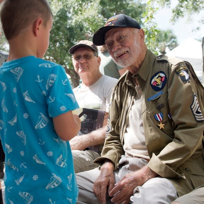 Images from a Meet the Veterans event at the Road to Victory Military Museum in downtown Stuart on Saturday, September 24, 2016.