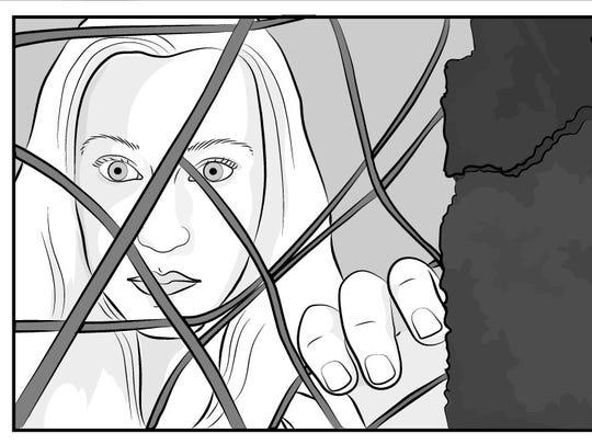 An image from Kristen Radtke's debut graphic novel