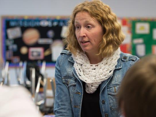Everett Meredith Middle School science teacher Meredith