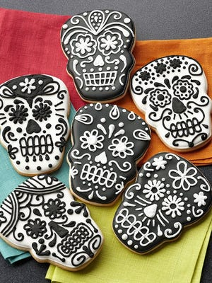 Calavera sugar cookies
