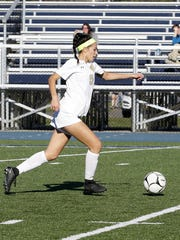 Laurel Vargas has earned all-state honors all four of her varsity seasons at Notre Dame.