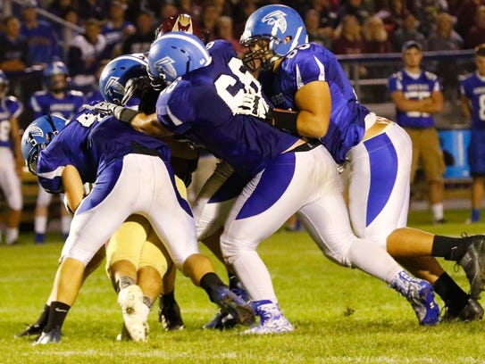 Amherst used a swarming defense to open the 2017 season