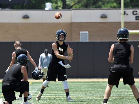 Area west Tennessee high school football teams participated in 7-on-7 games, Wednesday, July 12 and Thursday, July 13.