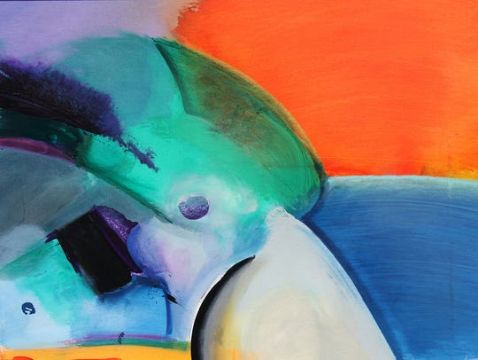 Abstract painter Phil Dimmer will appear at the Coconut