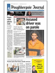 The cover of the August 3, 2012 edition of the Poughkeepsie
