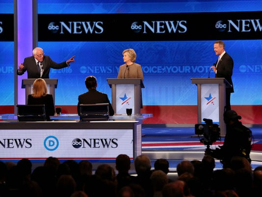 Democratic Presidential Candidates Debate In New Hampshire