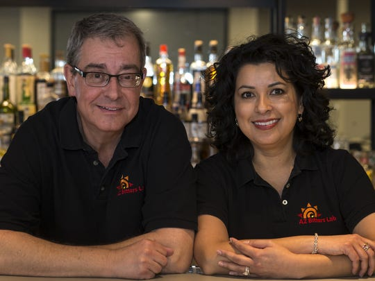 Bill and Lillian Buitenhuys, owners of AZ Bitters Lab.