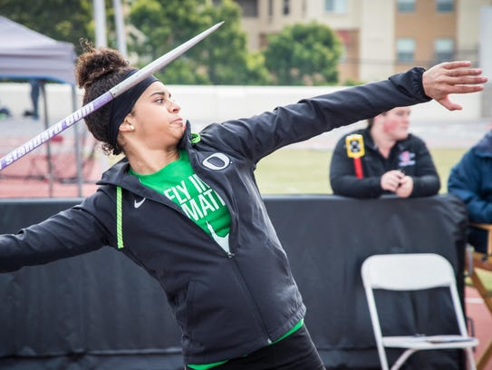 Keira McCarrell, a former West Salem standout, is competing