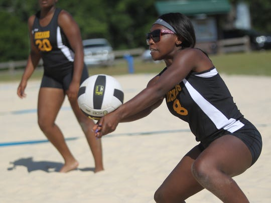 2018 Tallahassee high school beach volleyball city