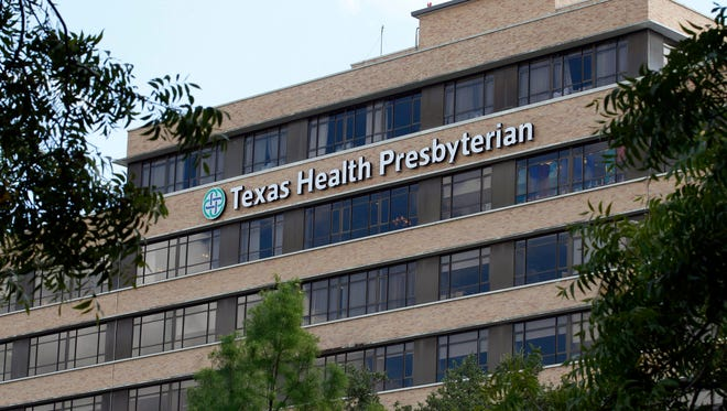 Texas Health Presbyterian Hospital in Dallas.
