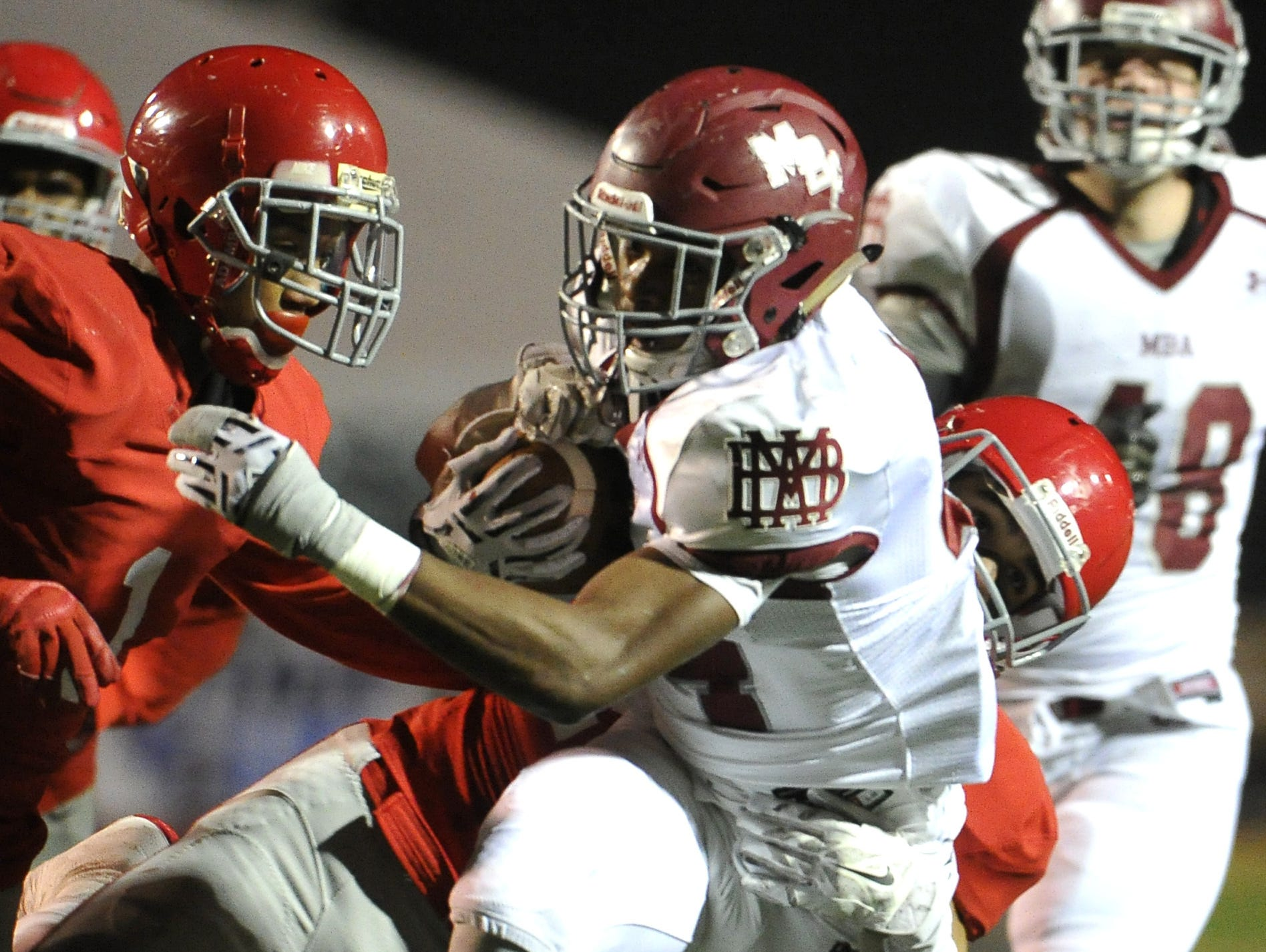 MBA running back Ty Chandler (44) is No. 2 on the Dandy Dozen.
