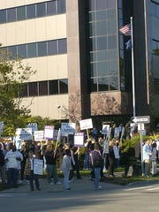 In this September 2007 LSJ file photo, state employees