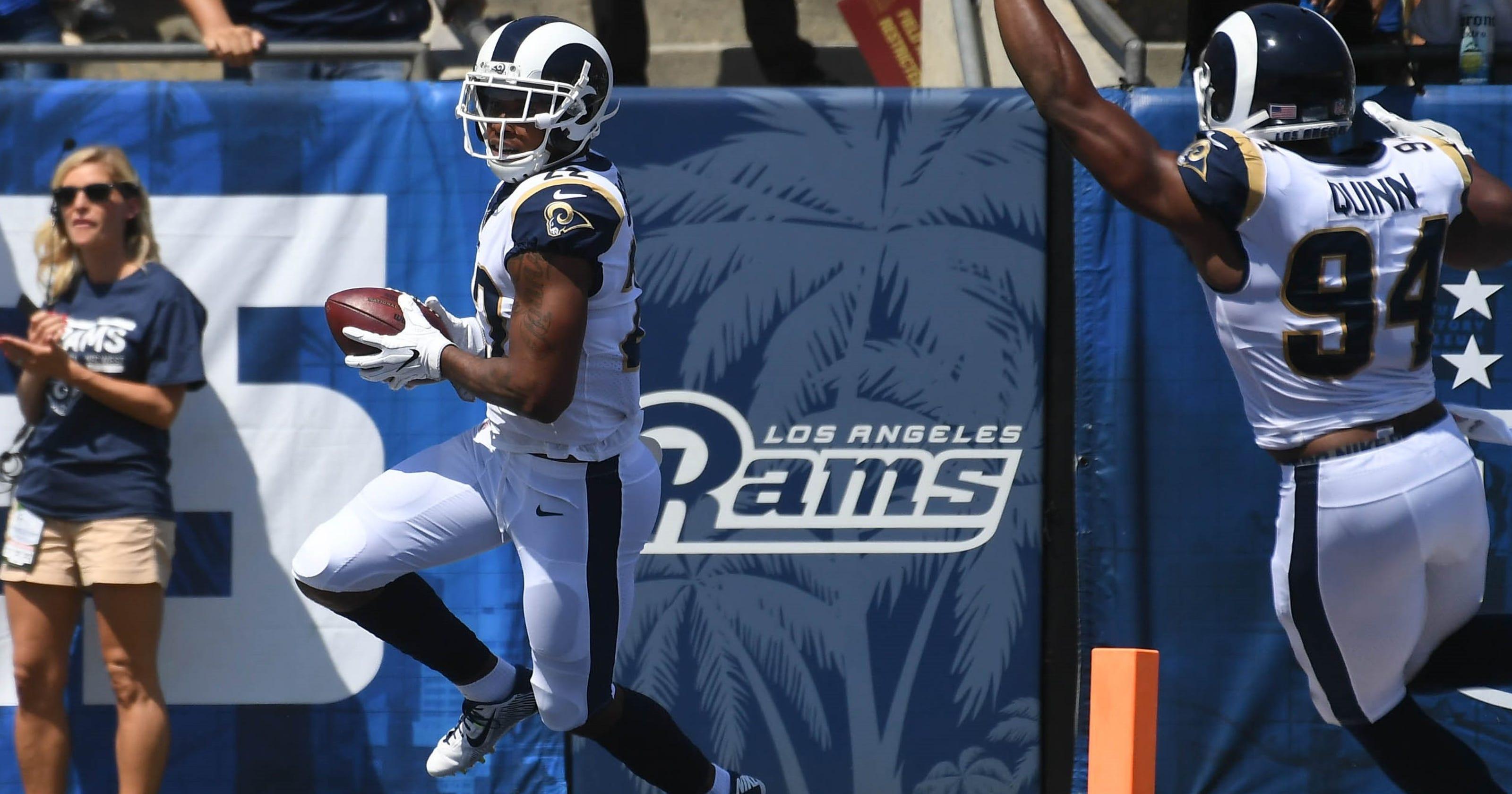 18f65bdd259 Rams CB Trumaine Johnson continues to shine despite contract issue