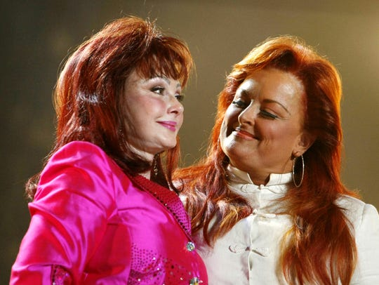 Naomi and Wynonna Judd perform during the CMA Music