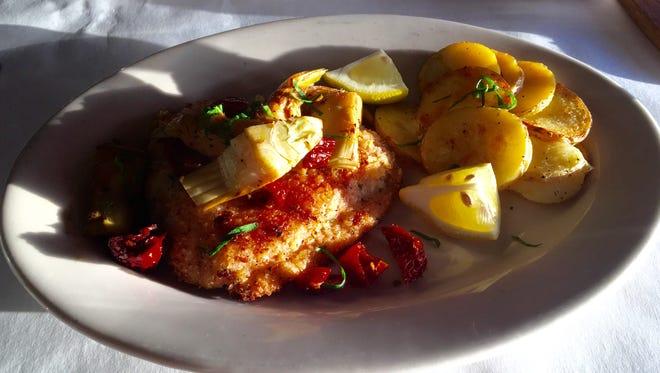 Salmon Gusto from Gusto Cucina Italiana in Cape Coral.