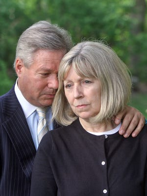 Robert and Charlene Spierer, the parents of Lauren Spierer, in Harrison, N.Y., on May 20, 2013.