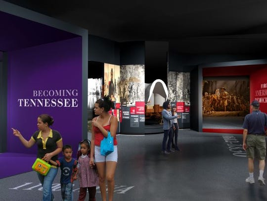 """""""Becoming Tennessee"""" will be one of the largest galleries"""
