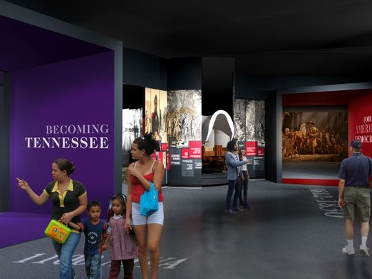 """Becoming Tennessee"" will be one of the largest galleries"