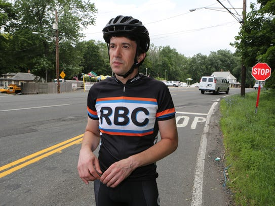 Mike Benowitz, the President of the Rockland Bicycling