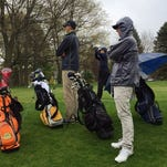 The Hartland boys golf team defeated Walled Lake Central and Walled Lake Western in its first KLAA crossover quad meet.