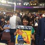 California delegates talk day one of Democratic convention