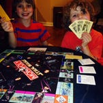 Monopoly is a great tool to teach kids about money.