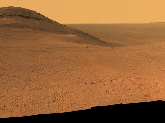 Panoramic view above Perseverance Valley