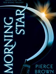 """The cover to """"Morning Star,"""" the third in author Pierce"""