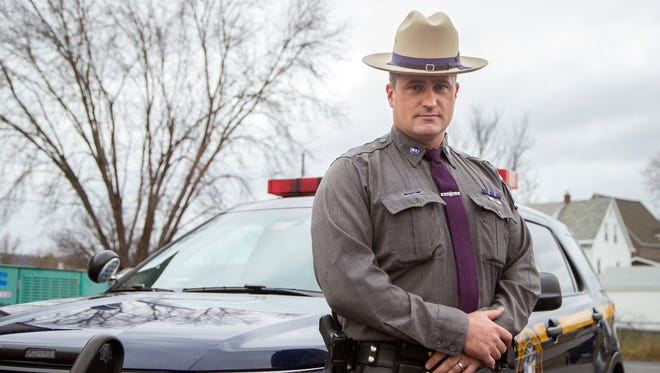 New York State trooper Neil Case will attend the World Special Olympics in Austria in March.