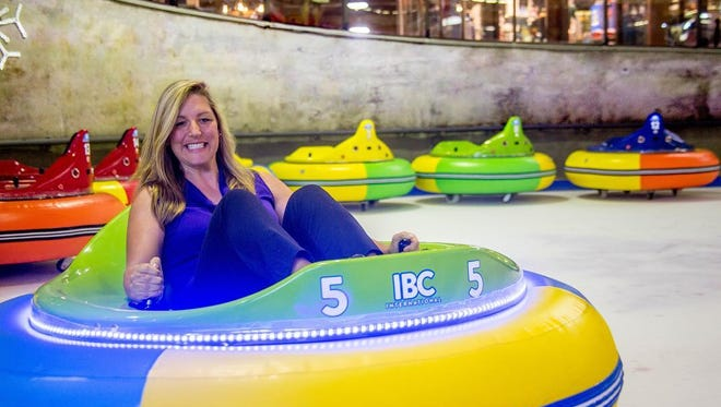 Ober Gatlinburg opened a new ice bumper cars attraction on Monday, June 4.