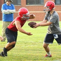 The Vestal and Chenango Forks football teams were among many high school sports programs that held their first practices on Monday.